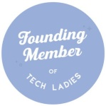 TechLadies Badge cutout